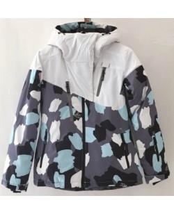 Куртка лыжная женская Just Play Paint комбинированный (B2340-white)