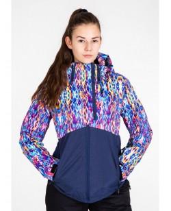 Куртка лыжная женская Just Play Rima смешанный (B2338-darkblue)