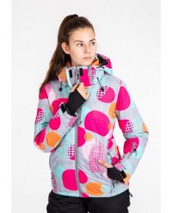 Куртка лыжная женская Just Play Ring разноцветный (B2339-grey)