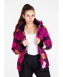 Куртка лыжная женская Just Play Ring разноцветный (B2339-purple)