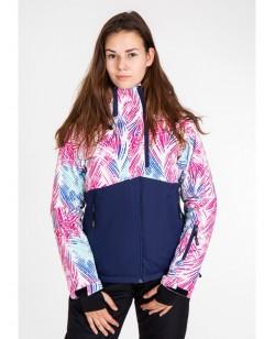 Куртка лыжная женская Just Play Siba смешанный (B2343-darkblue)