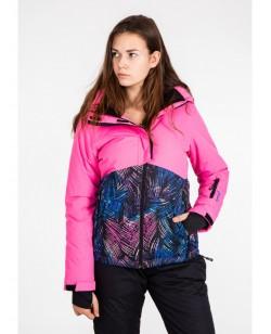 Куртка лыжная женская Just Play Siba Розовый / разноцветный (B2343-black
