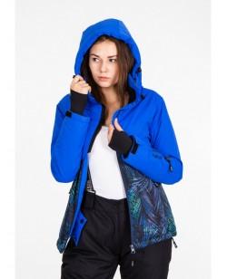 Куртка лыжная женская Just Play Siba синий (B2343-blue)