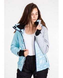 Куртка лыжная женская Just Play Sika голубой (B2344-blue)