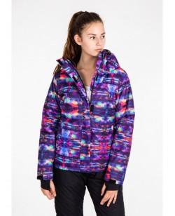 Куртка лыжная женская Just Play Vrane разноцветный (B2334-blue)