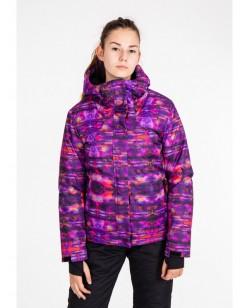 Куртка лыжная женская Just Play Vrane фиолетовый (B2334-purple)