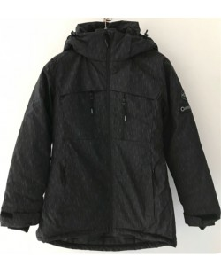 Куртка лыжная женская Just Play черный (B2355-black)