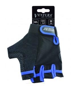 Велоперчатки Ventura Gel Blue черный / синий (M-719972-blue)