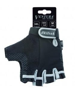 Велоперчатки Ventura Gel Grey черный / серый (M-719972-grey)