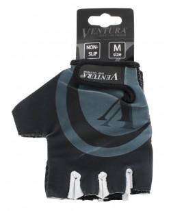 Велоперчатки Ventura черно-серый (M-719985-grey)