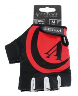Велоперчатки Ventura черно-красный (M-719985-red)