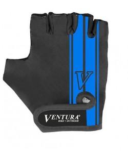Велоперчатки Ventura, черный / синий (A-PZ-0666-blue)