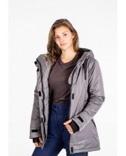 Куртка женская Just Play Sirk серый (B2362-grey)