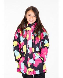 Куртка лыжная детская Just Play Erin розовый (B4323-black)