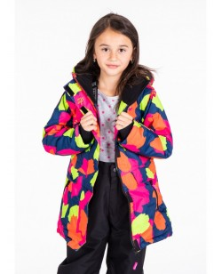Куртка лыжная детская Just Play Erin розовый / синий (B4323-darkblue)
