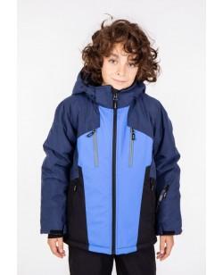 Куртка лыжная детская Just Play Nava синий / голубой (b3347-darkblue)