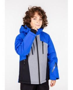 Куртка лыжная детская Just Play Nava синий / серый (b3347-blue)