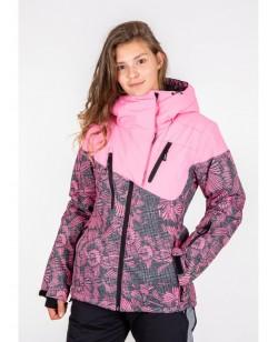 Куртка лыжная женская Just Play Lanta розовый (B2337-pink)