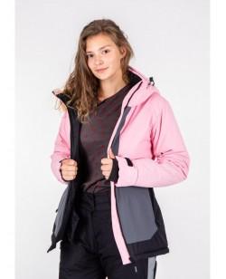 Куртка лыжная женская Just Play Leno розовый (b2357-pink)