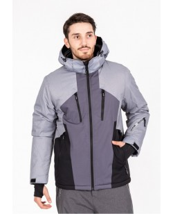 Куртка лыжная мужская Just Play Dosin серый (B1326-grey)