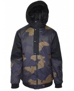 Куртка лыжная мужская Just Play Leone (B1317-orange)