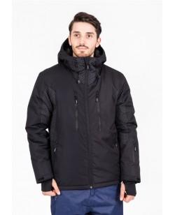Куртка лыжная мужская Just Play Lokca черный (B1328-black)