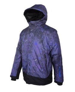 Куртка лыжная мужская Just Play Sky фиолетовый (B1311-grey)