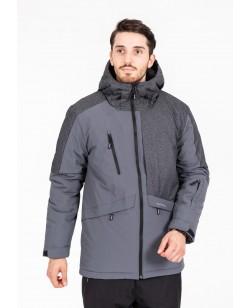 Куртка лыжная мужская Just Play серый (b1331-grey)