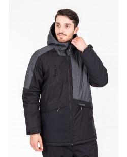 Куртка лыжная мужская Just Play черный (b1331-black)