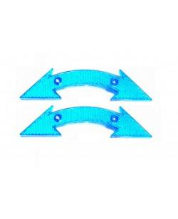 Катафоты велосипедные DN-130 2 шт, синий (DN-130-blue)