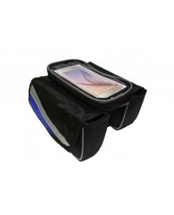 Сумка на раму DN-40-27 под смартфон, черный (DN-40-27)