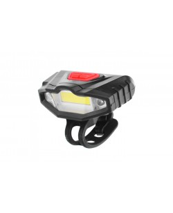 Фара передняя Bailong KK-901 COB 2 LED USB, черный (KK-901l)