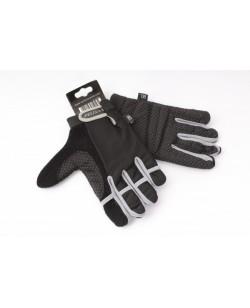 Велоперчатки Ventura Lycra Gel черный / серый (A-PZ-0160-grey)