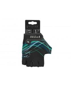 Велоперчатки Ventura, черный / зеленый (A-PZ-0666-bl-gr)