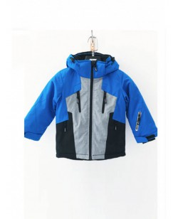 Куртка лыжная детская Just Play Dobi синий / серый (B5010-blue)