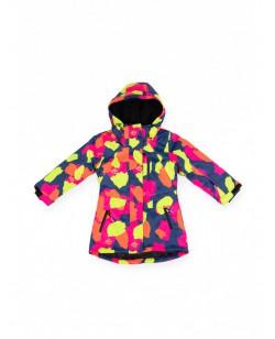 Куртка лыжная детская Just Play Lami разноцветный (B6002-blue)