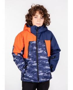 Куртка лыжная детская Just Play Sany оранжевый / синий (B3340-orange)