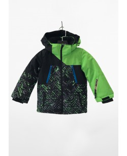 Куртка лыжная детская Just Play зеленый / черный (B5001-green)