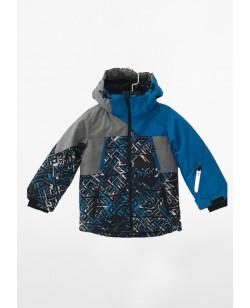 Куртка лыжная детская Just Play синий / серый (B5001-blue)