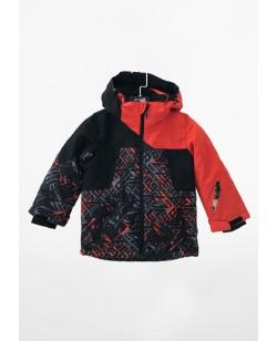 Куртка лыжная детская Just Play красный / черный (B5001-red)