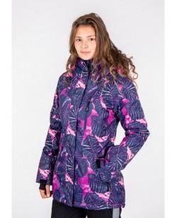 Куртка лыжная женская Just Play Dina разноцветный (B2349-pink)