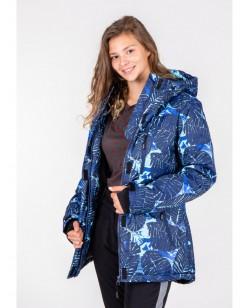 Куртка лыжная женская Just Play Dina синий (B2349-blue)