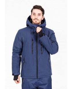 Куртка лыжная мужская Just Play Lokca синий (B1328-darkblue)