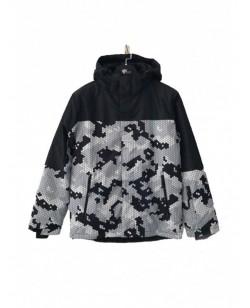 Куртка лыжная мужская Just Play Tisie серый / черный (B1322-grey)