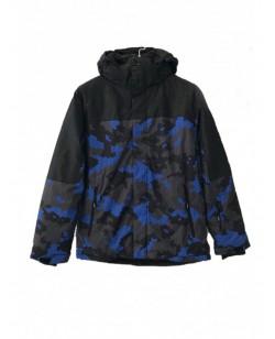 Куртка лыжная мужская Just Play Tisie черный / синий (B1322-blue)