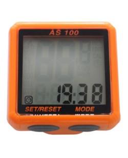 Велокомпьютер Assize 13 функций, оранжевый (A-L-0058)