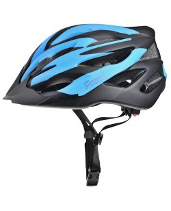 Шлем велосипедный ProX Thumb черный / голубой (A-KO-0125)