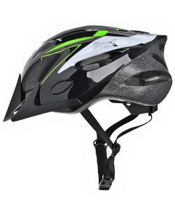 Шлем велосипедный ProX Thunder черный / зеленый (A-KO-0131)