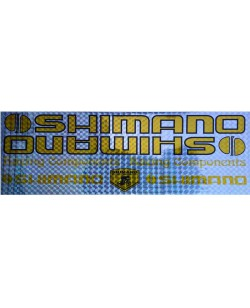 Наклейка Shimano на раму велосипеда (n-1471)