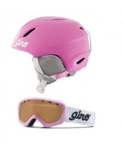 Горнолыжный шлем Giro Launch + маска Giro Chico розовый (launch-pink)